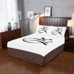 Alphabet Z 3-Piece Bedding Set