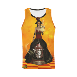Fantasy women with carousel All Over Print Tank Top for Men (Model T43)