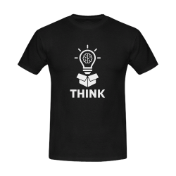 Think outside the box Men's T-Shirt in USA Size (Front Printing Only)