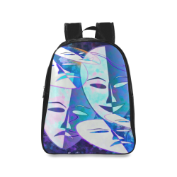 Abstract Drama School Backpack/Large (Model 1601)