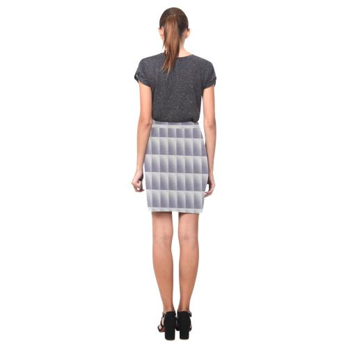 Graphic illusion Nemesis Skirt (Model D02)