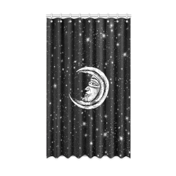 "Mystic Moon Window Curtain 50"" x 84""(One Piece)"