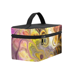 Colorful Marble Design Lunch Bag/Large (Model 1658)