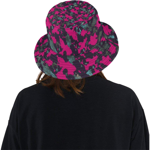 BROMBERRY CAMOUFLAGE LADYLIKE All Over Print Bucket Hat