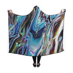 Downhill Hooded Blanket 60''x50''