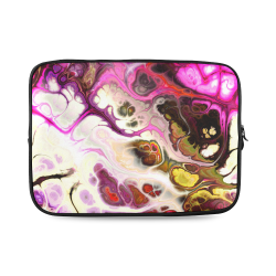 Colorful Marble Design Custom Laptop Sleeve 14''
