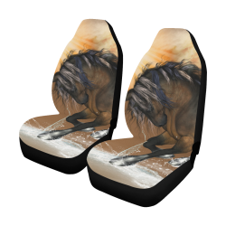 Wonderful horse with water splash Car Seat Covers (Set of 2)