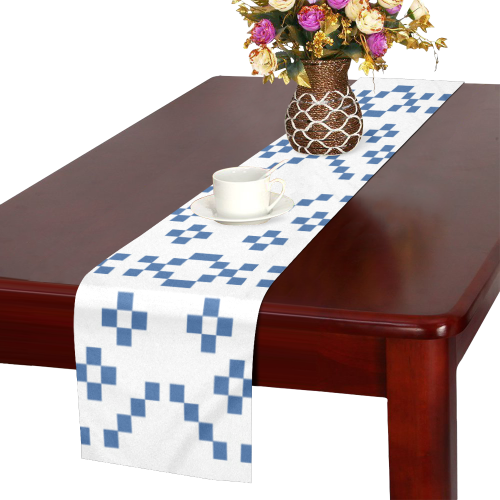 Ethnic folk ornament Table Runner 16x72 inch