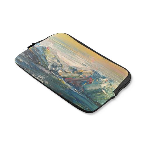 Mountains painting iPad mini