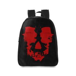 Dr Jekyll & Mr Hyde Skull | School Backpack/Large (Model 1601)