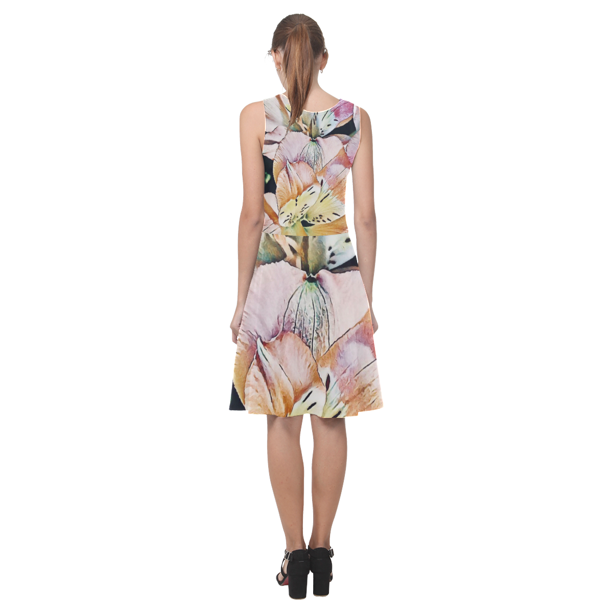 Impression Floral 10192 by JamColors Atalanta Casual Sundress(Model D04)