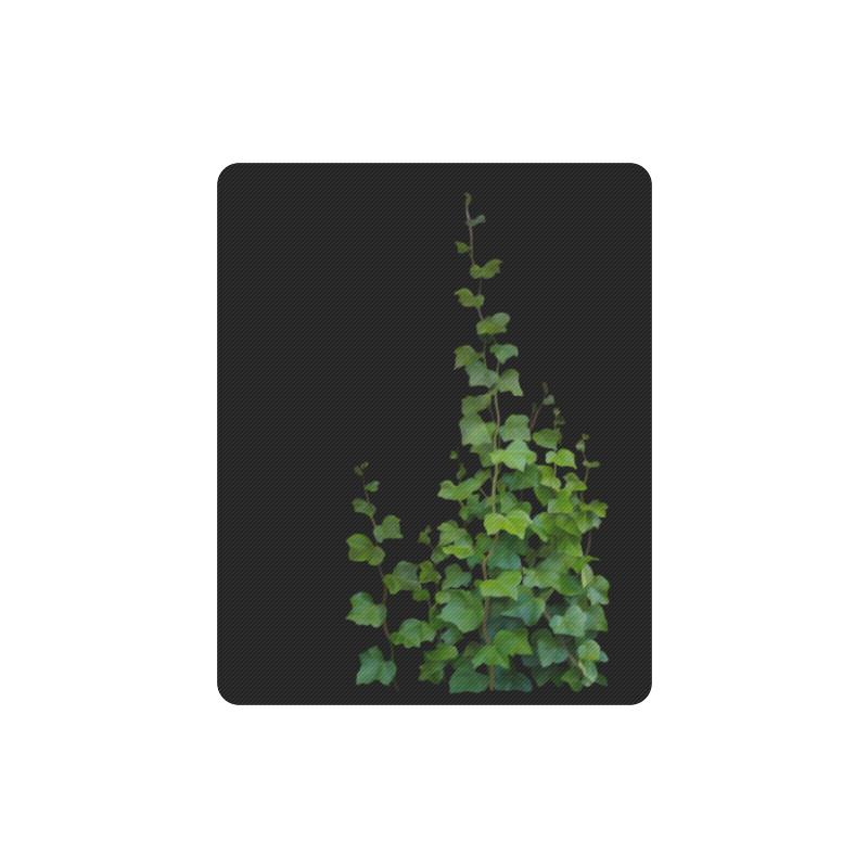 Vines, climbing plant watercolor Rectangle Mousepad