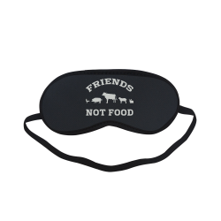Friends Not Food (Go Vegan) Sleeping Mask