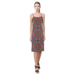 Floral Eccentrics Alcestis Slip Dress (Model D05)