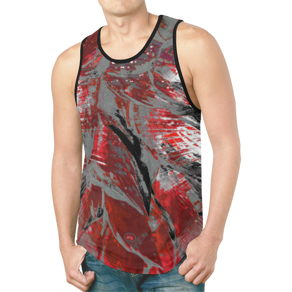 wheelVibe2_8500 4 low New All Over Print Tank Top for Men (Model T46)