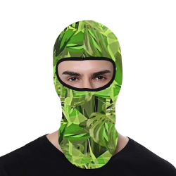 Tropical Jungle Leaves Camouflage All Over Print Balaclava