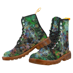 Urban Watercolor by Jera Nour Martin Boots For Men Model 1203H