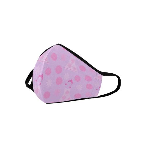 lilac dress Mouth Mask