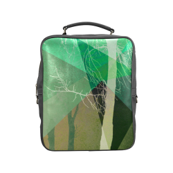 P22-B2 TREES AND TRIANGLES_BP5 Square Backpack (Model 1618)