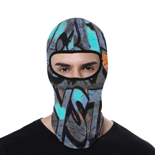 GRAFFITI F SYSTEM All Over Print Balaclava