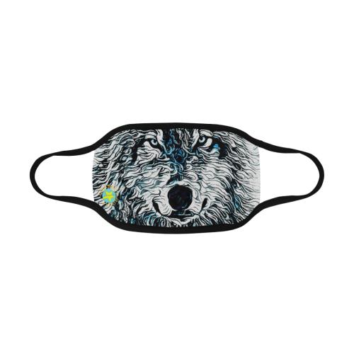 WOLF ICE MASK Mouth Mask