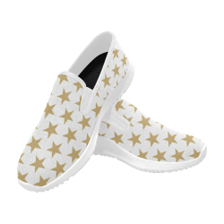 Star Orion Slip-on Women's Canvas Sneakers (Model 042)