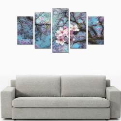 Cherry blossomL Canvas Print Sets A (No Frame)