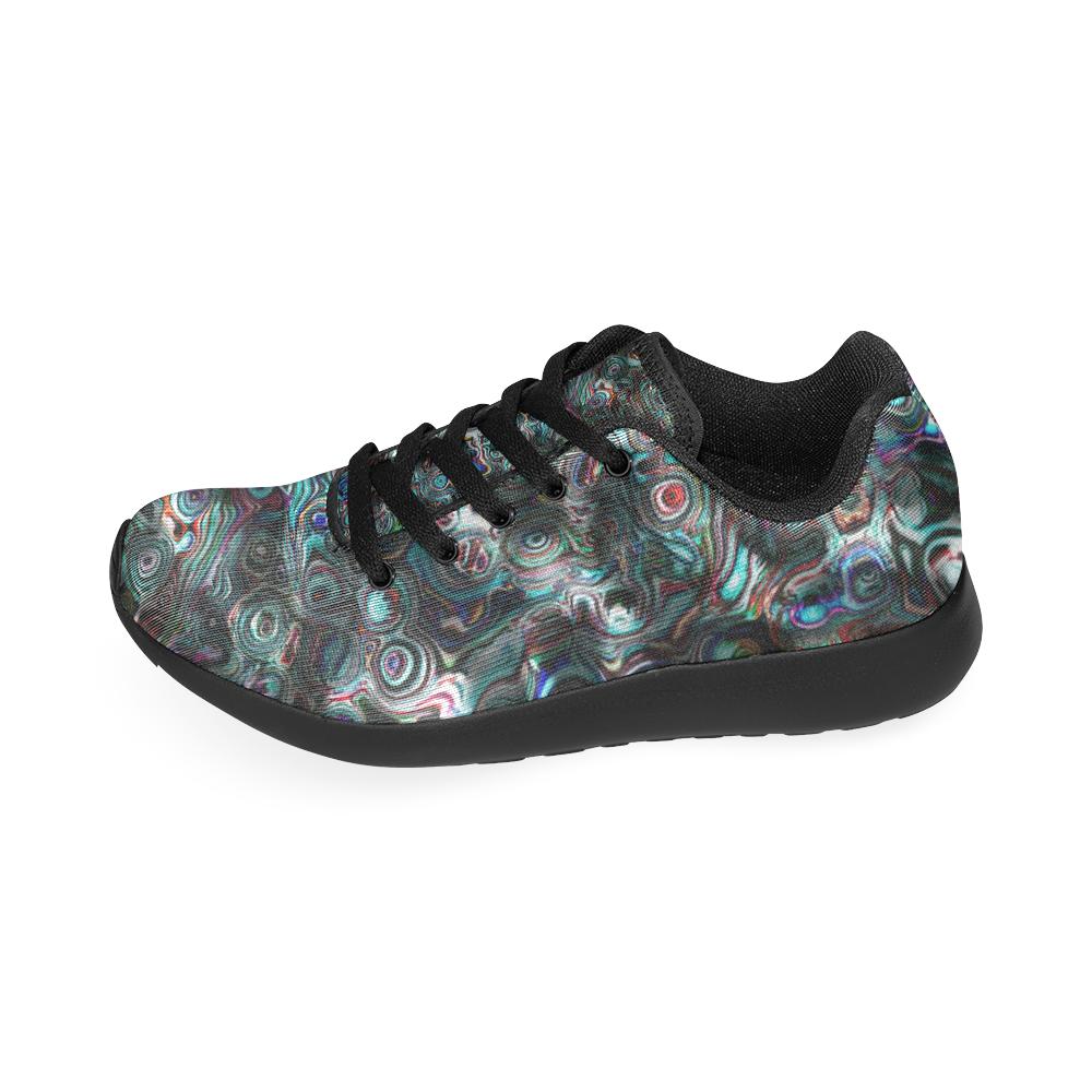 VanGogh Fur by Jera Nour Women's Running Shoes/Large Size (Model 020)