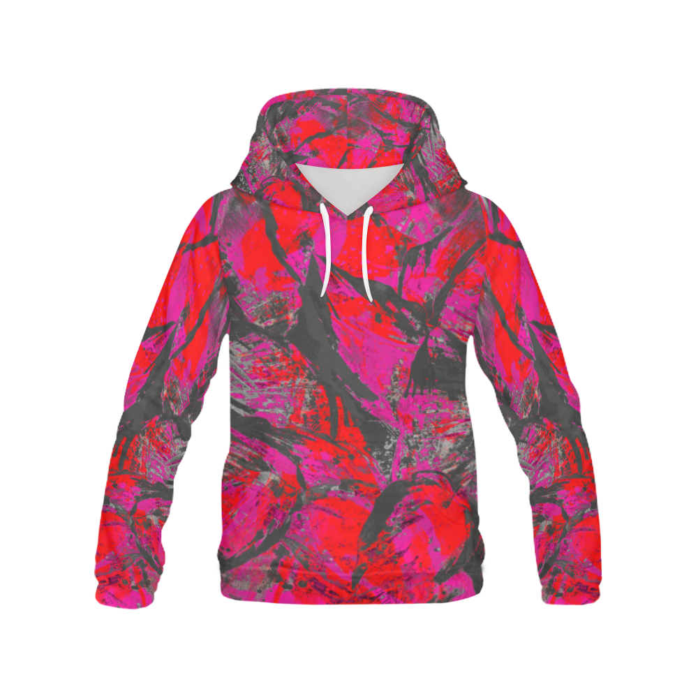 Dirty Pink Wear Crew All Over Print Hoodie (for Men)