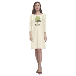 Powered by Plants (vegan) Rhea Loose Round Neck Dress(Model D22)