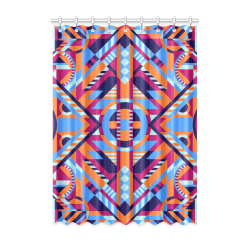 "Modern Geometric Pattern Window Curtain 52"" x 72""(One Piece)"