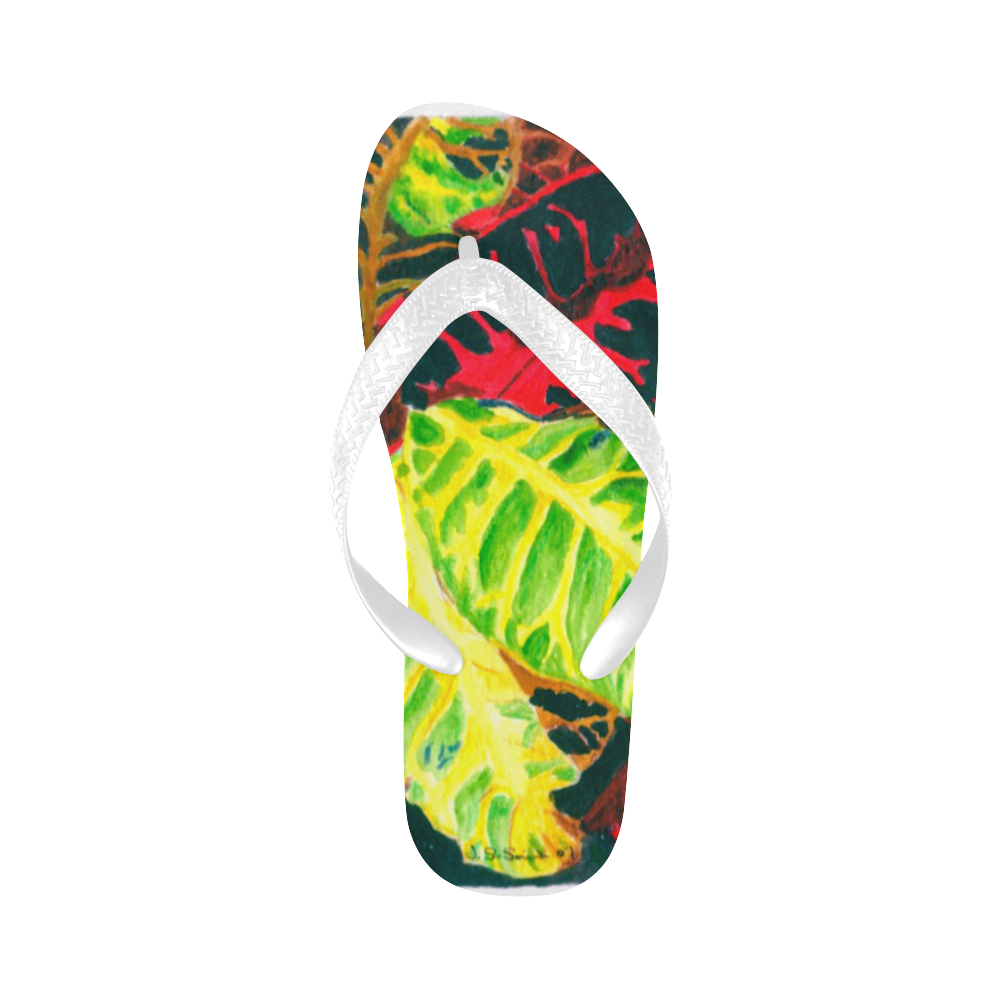 manusartgnd Flip Flops for Men/Women (Model 040)