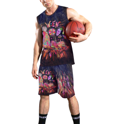 Vienna / Wien Popart by Nico Bielow All Over Print Basketball Uniform