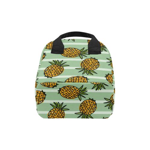 Cute Pineapple Lunch Bag Zipper Lunch Bag (Model 1689)