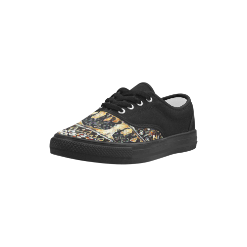Africa Aries Men's Canvas Shoes (Model 029)