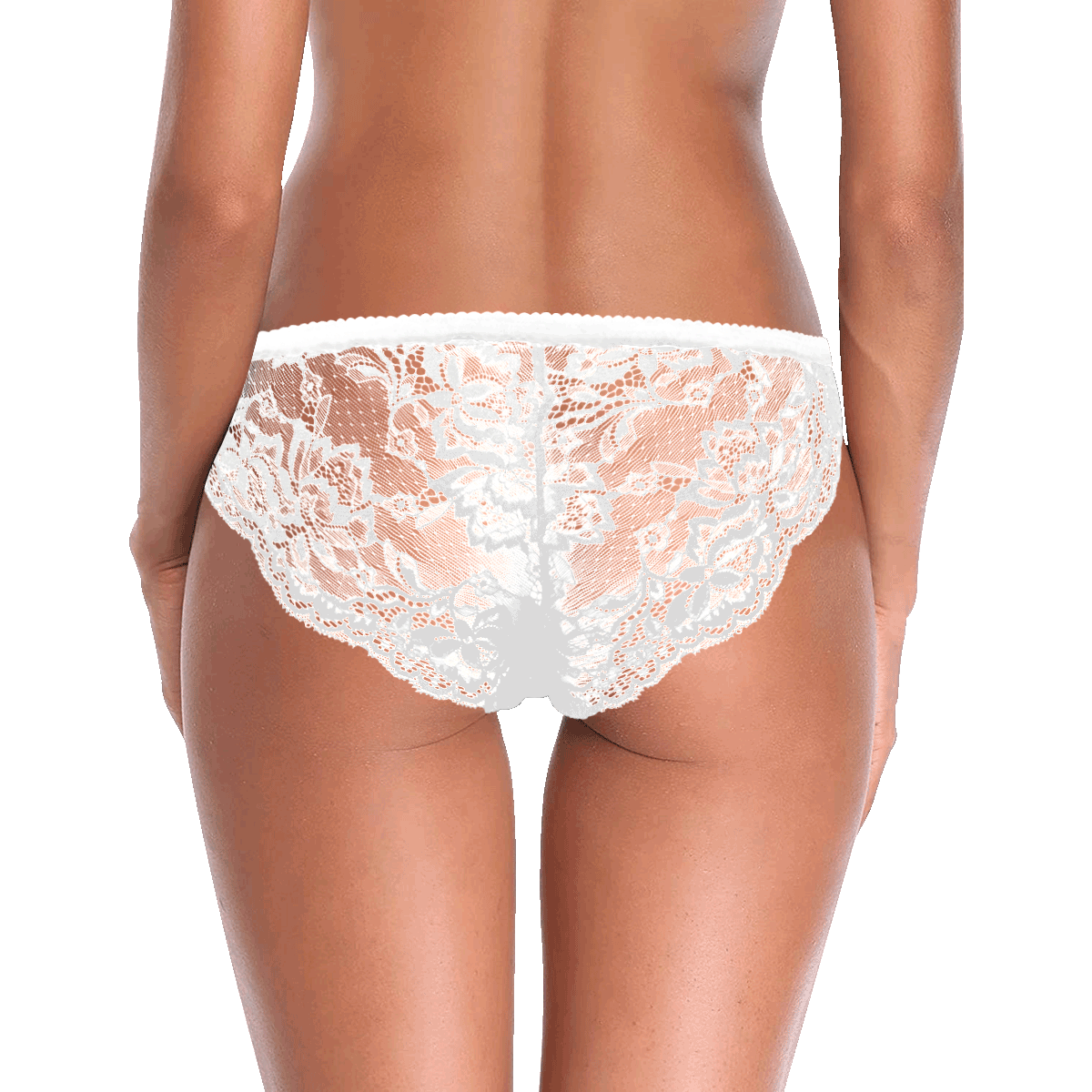 Cupcakes Women's Lace Panty (Model L41)