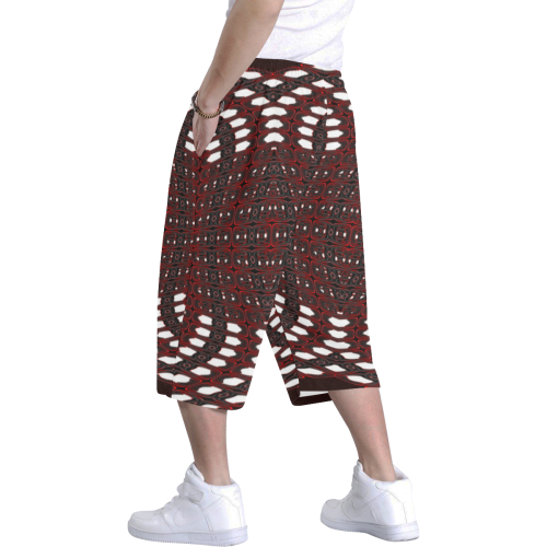 8000  EKPAH 27 low Men's All Over Print Baggy Shorts (Model L37)