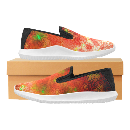 somefire Orion Slip-on Men's Canvas Sneakers (Model 042)