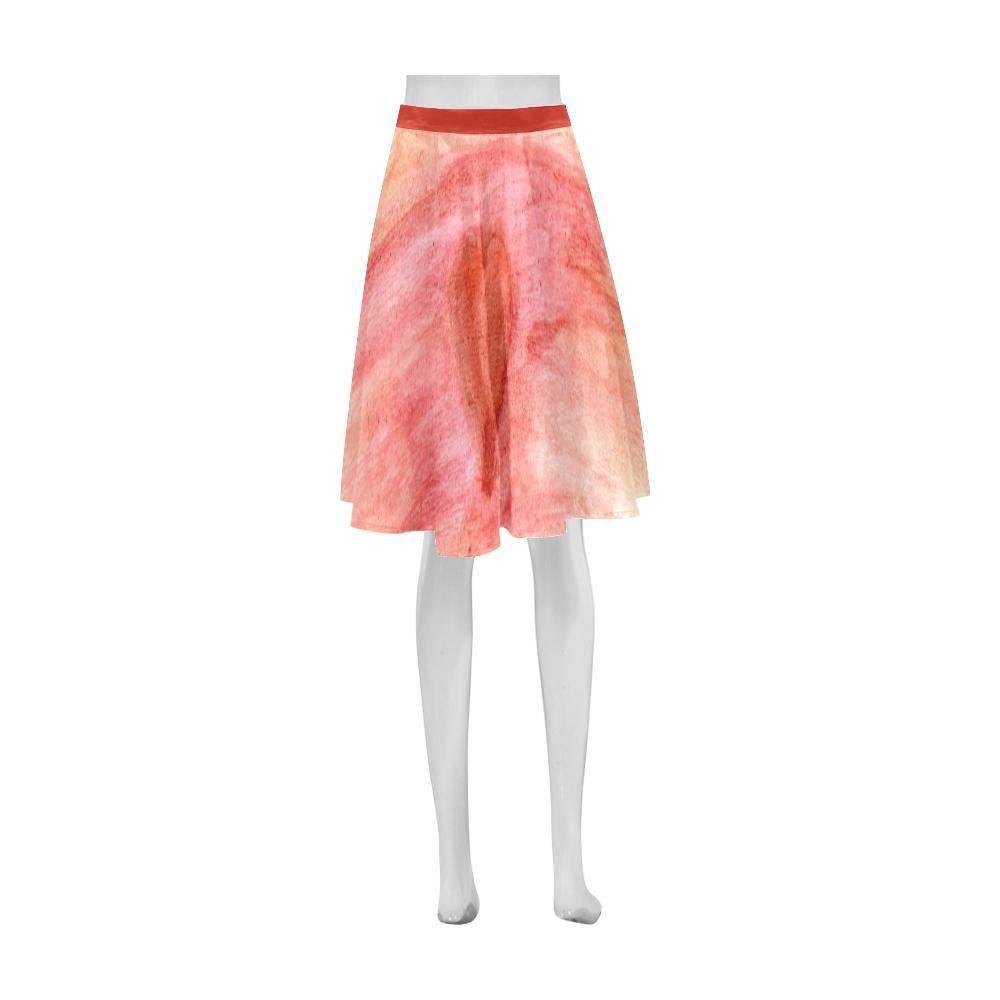 Radiating Heart Athena Women's Short Skirt (Model D15)