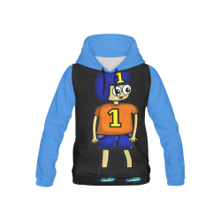 BRIAN All Over Print Hoodie for Kid (USA Size) (Model H13)