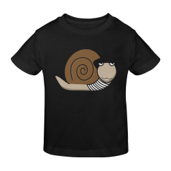 Escargot ~ French Snail Sunny Youth T-shirt (Model T04)