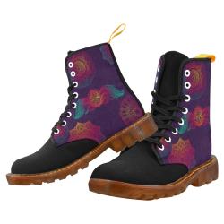 Colorful Mandala Martin Boots For Women Model 1203H