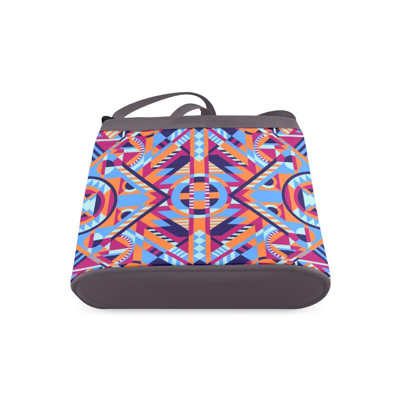 Modern Geometric Pattern Crossbody Bags (Model 1613)