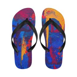 oil_l Flip Flops for Men/Women (Model 040)
