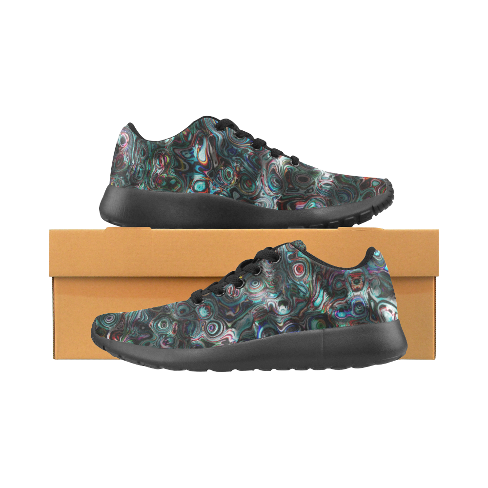 VanGogh Fur by Jera Nour Women's Running Shoes/Large Size (Model 020)