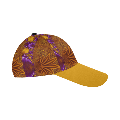 Sunset Jungle Leaves All Over Print Baseball Cap B