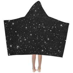 Stars in the Universe Kids' Hooded Bath Towels