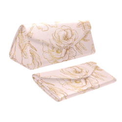 Pink Roses Custom Foldable Glasses Case