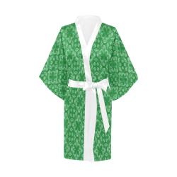 Green Shadows Kimono Robe
