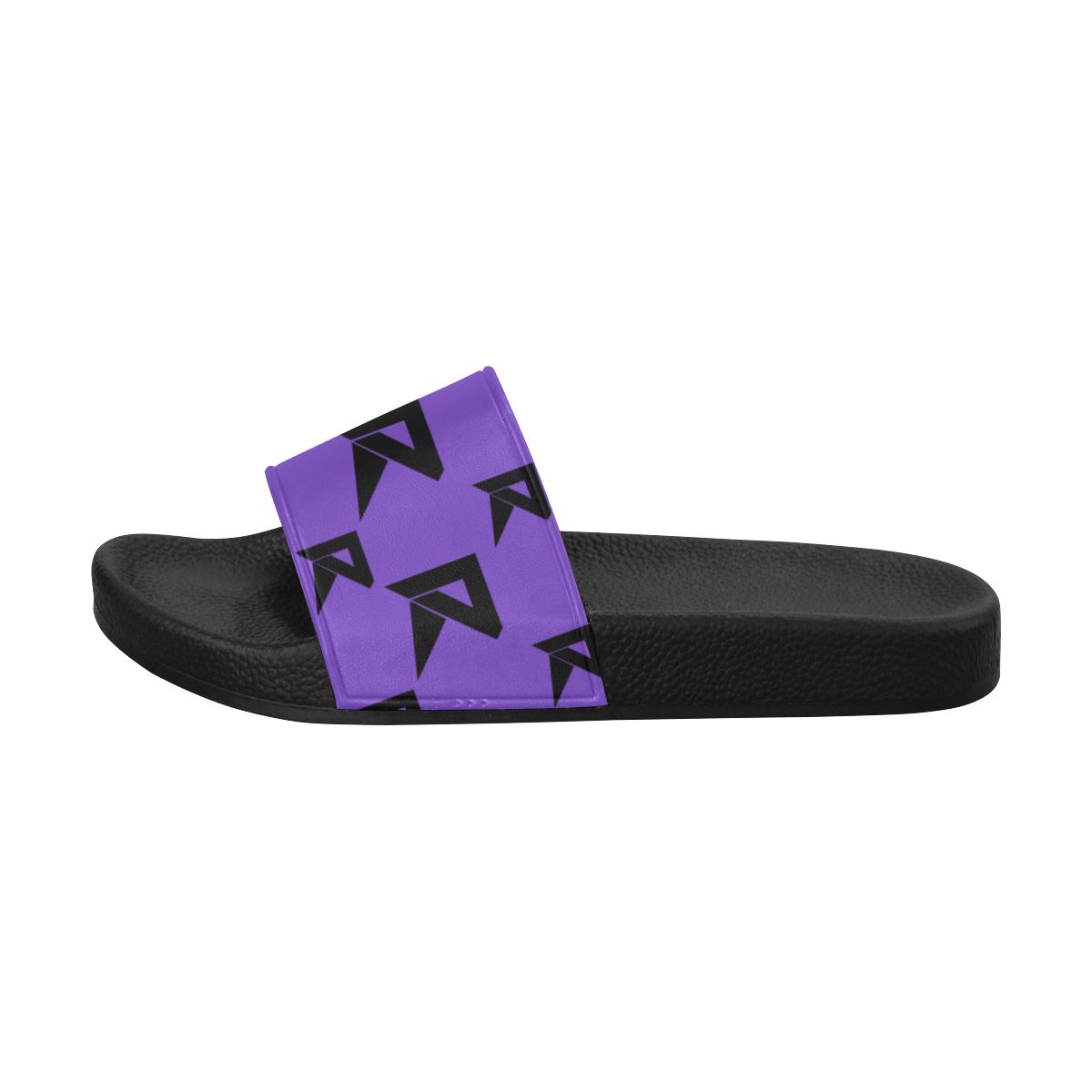 Women's Slide Sandals (Purple) Women's Slide Sandals (Model 057)